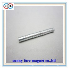 high anti-rust round magnet for clothing